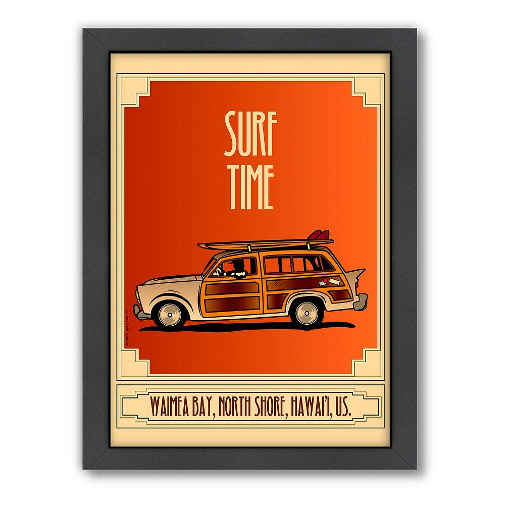 Americanflat ''Surf Time'' Framed Wall Art