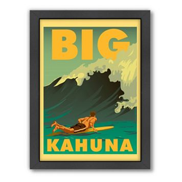 Americanflat ''Big Kahuna'' Framed Wall Art
