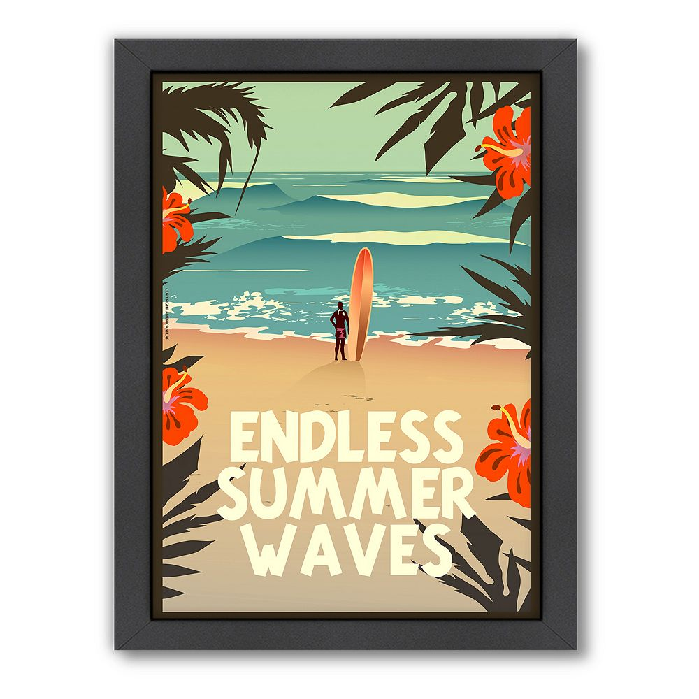 Americanflat ''Endless Summer'' Framed Wall Art