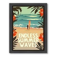 Americanflat ''Endless Summer'' Framed Wall Art