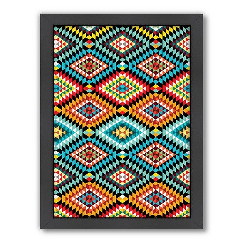 Americanflat Patricia Pino Geometric Framed Wall Art