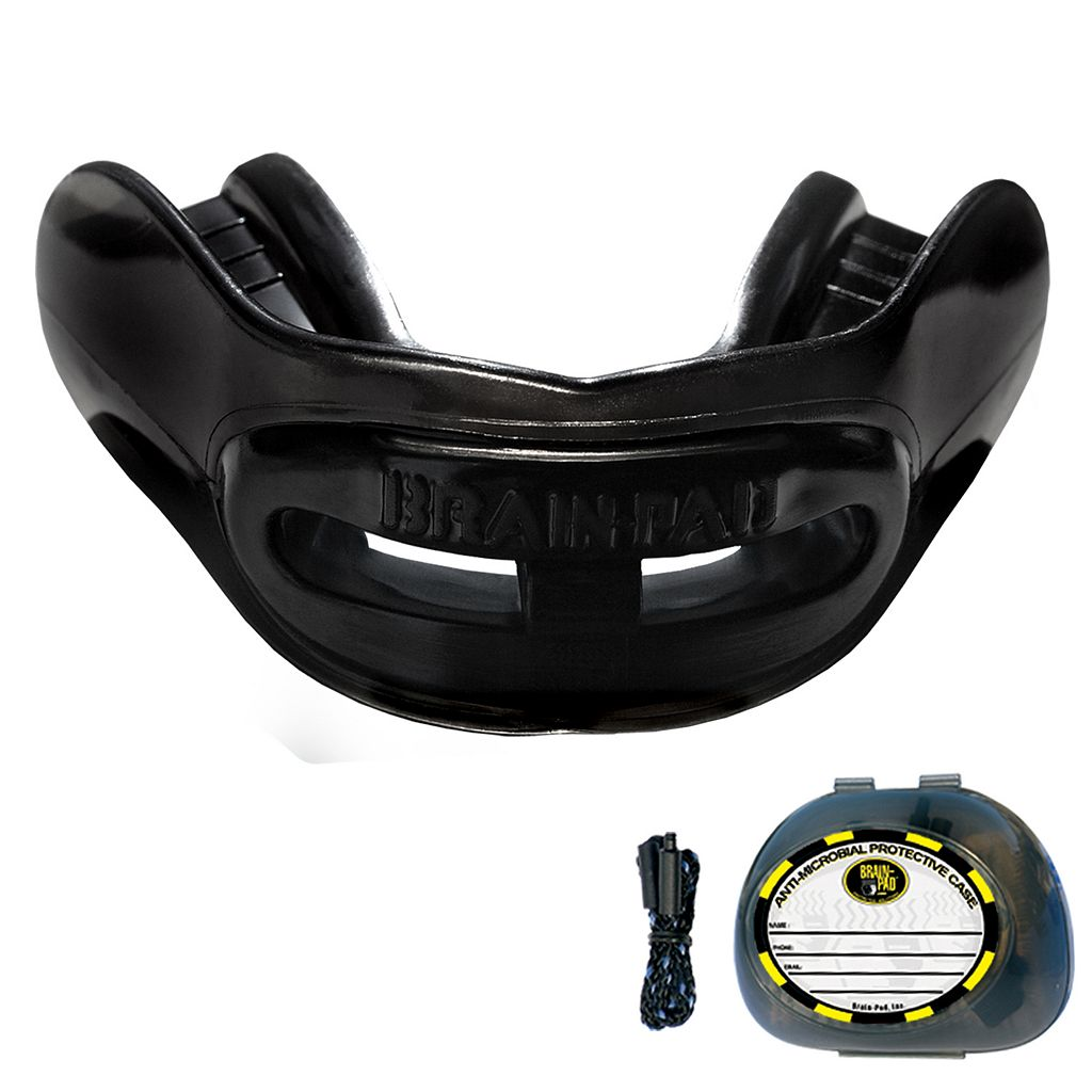 Brain-Pad High Performance Double Laminated Strapless Mouthguard - Adult