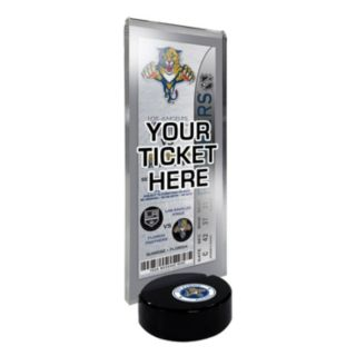 Florida Panthers Hockey Puck Ticket Display Stand