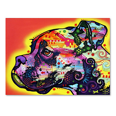 "47"" x 35"" ""Profile Boxer"" Canvas Wall Art"