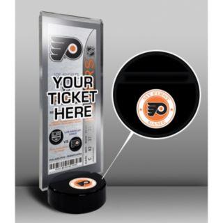 Philadelphia Flyers Hockey Puck Ticket Display Stand