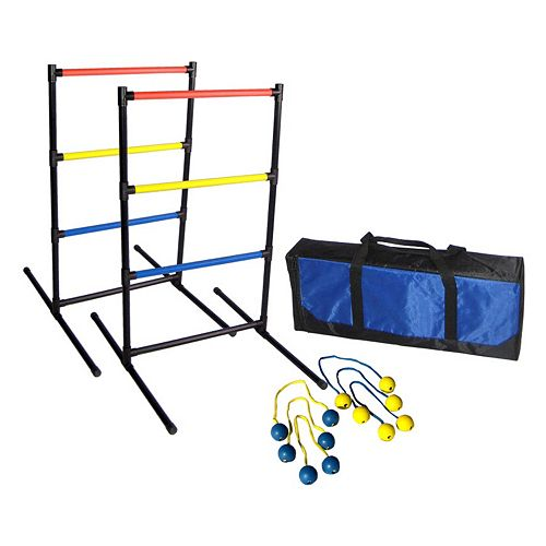 Driveway Games Ladder Bolos Toss Game