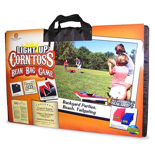 Driveway Games Light-Up Corntoss Bean Bag Game