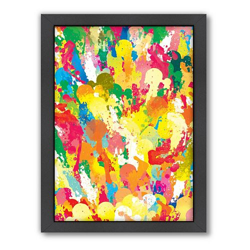 Americanflat Patricia Pino ''Spring'' Framed Wall Art