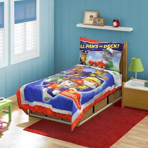 "Paw Patrol 4-pc. ""Ruff Ruff Rescue"" Bedding Set - Toddler"