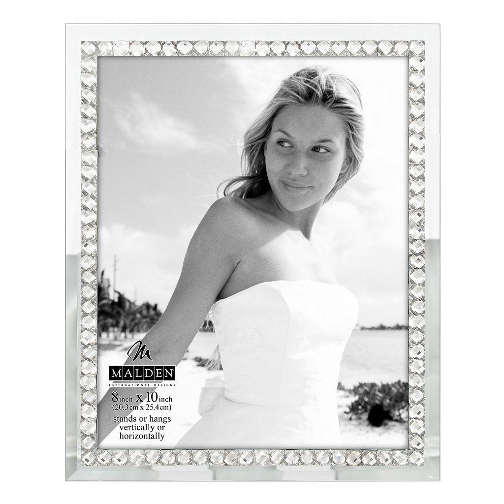 Malden 8'' x 10'' Jeweled Mirrored Frame
