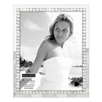 Malden 8'' x 10'' Jeweled Mirrored Frame