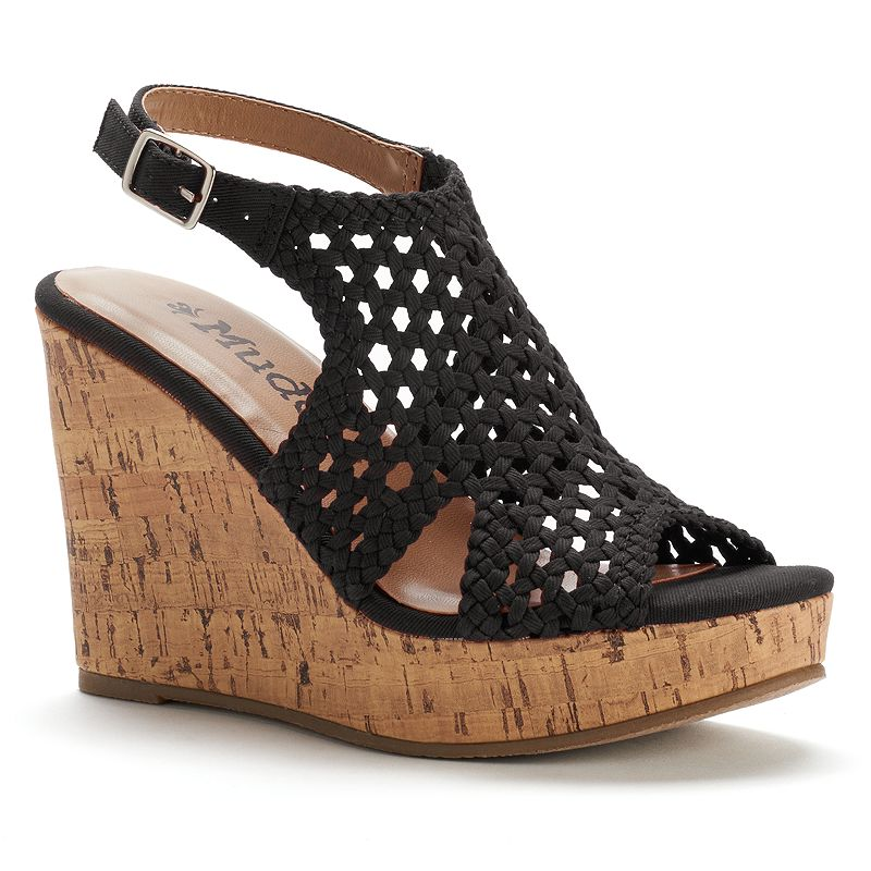 Womens Black Mudd Shoes