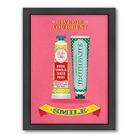 Americanflat Patricia Pino ''Best Smile'' Framed Wall Art