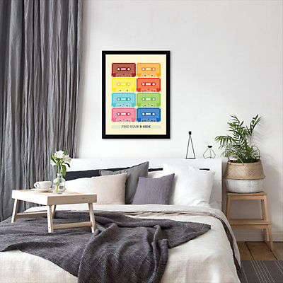 Americanflat Patricia Pino ''Find Your B Side'' Framed Wall Art