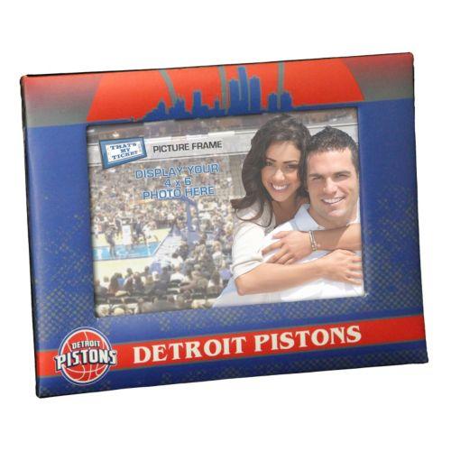"""Detroit Pistons 4"""" x 6"""" Vintage Picture Frame"""