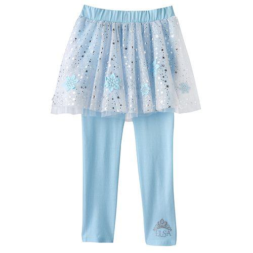 be5ffa0ff8311 Disney Frozen Elsa Tutu Leggings by Jumping Beans® - Girls 4 - 7