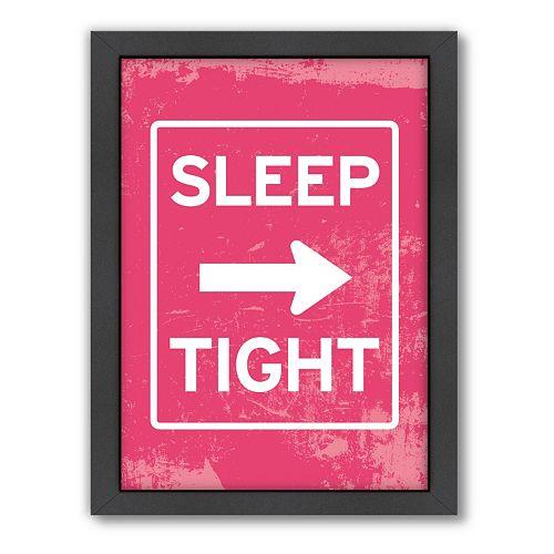 Americanflat Patricia Pino ''Sleep Tight'' Framed Wall Art
