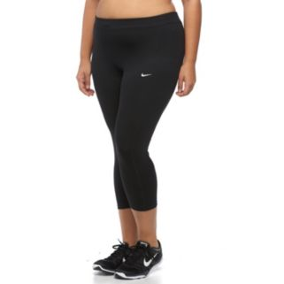 Plus Size Nike Dri-FIT Essential Crop Running Tights