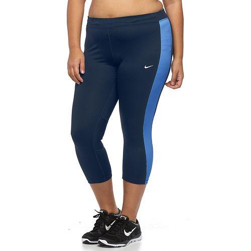 78382b912b3 Plus Size Nike Dri-FIT Essential Crop Running Tights