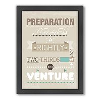 Americanflat Patricia Pino ''Preparation'' Framed Wall Art