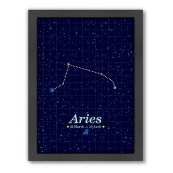 Americanflat Patricia Pino ''Aries'' Framed Wall Art