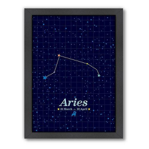 Americanflat Patricia Pino ''Aries'' Framed Wall Art