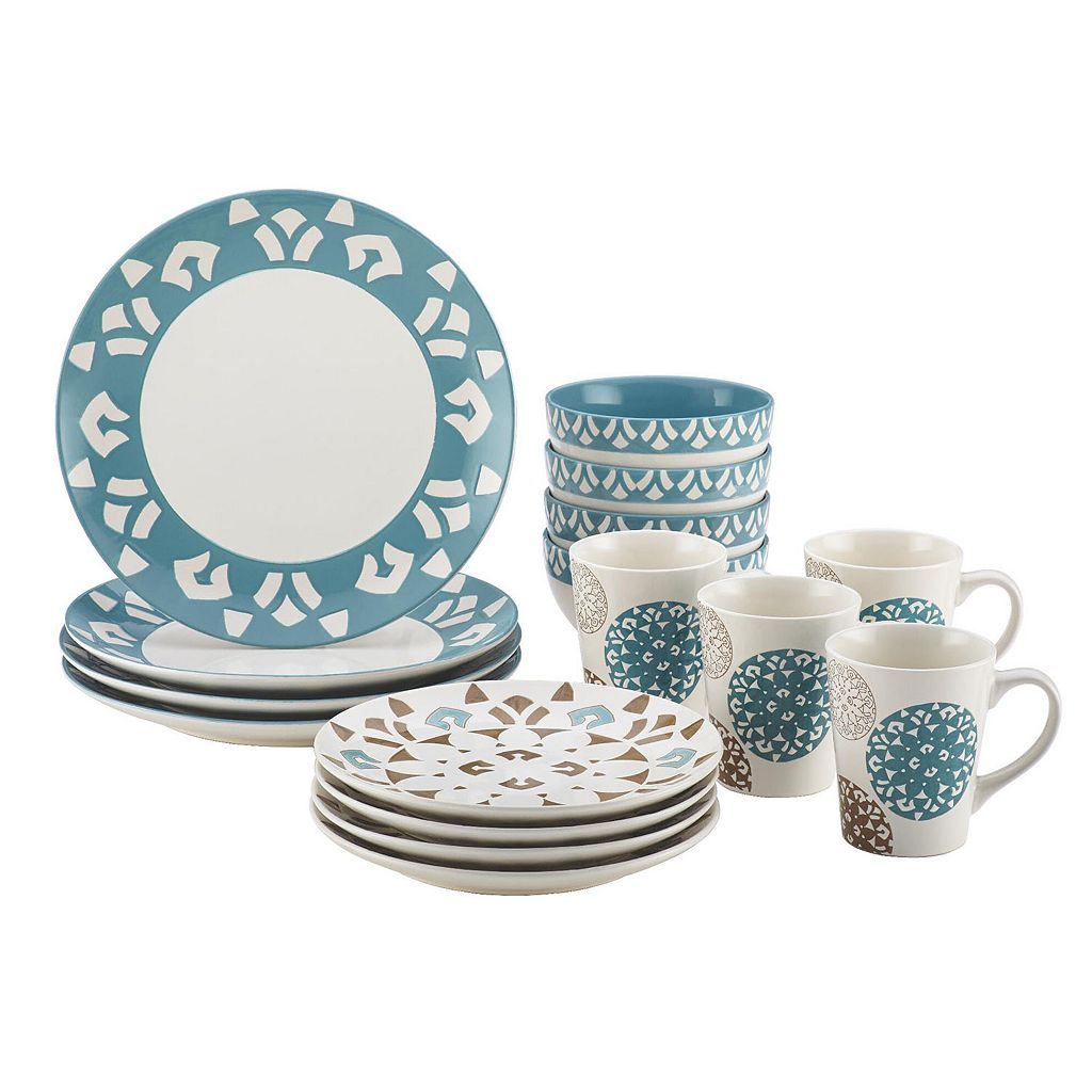 Rachael Ray Pendulum 16-pc. Dinnerware Set