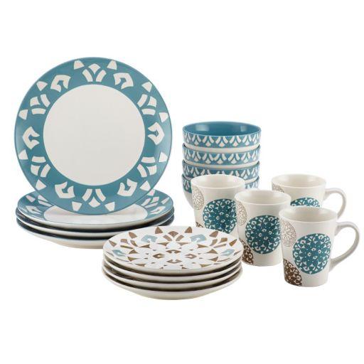 Rachael Ray Pendulum 16-pc. Dinnerware Set