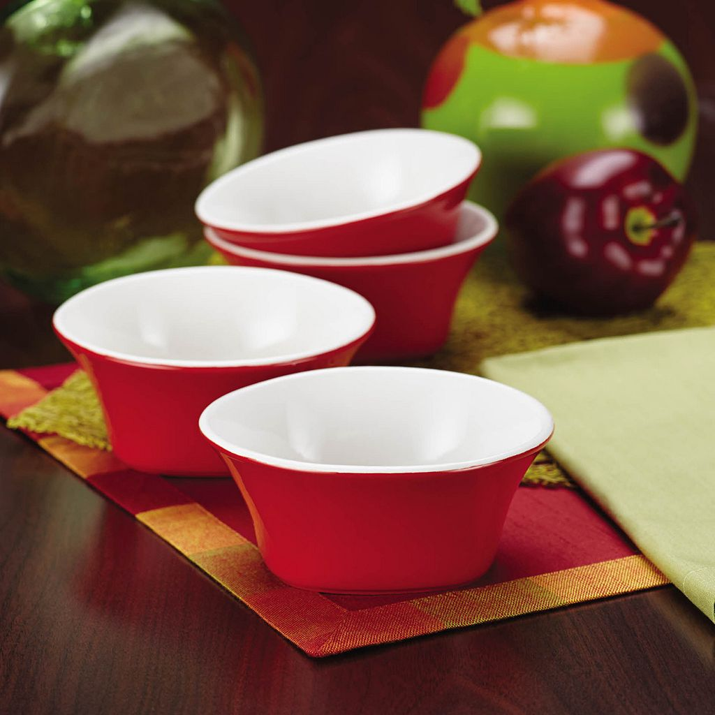 Rachael Ray Round and Square 4-pc. Fruit Bowl Set