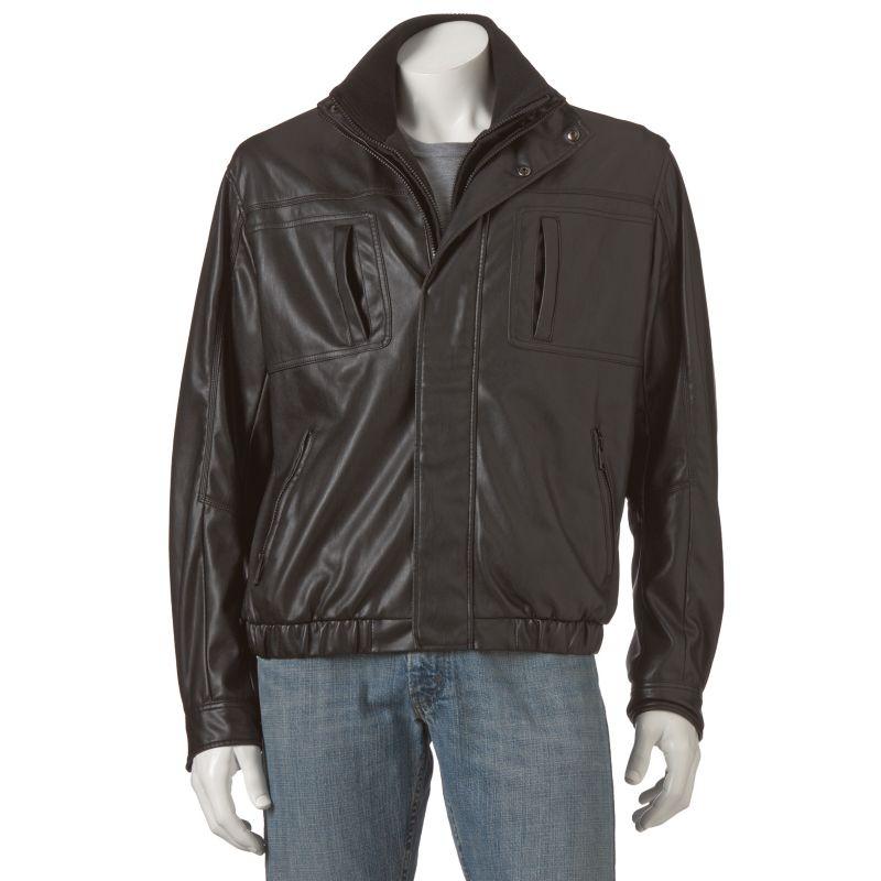 Kohls leather jackets