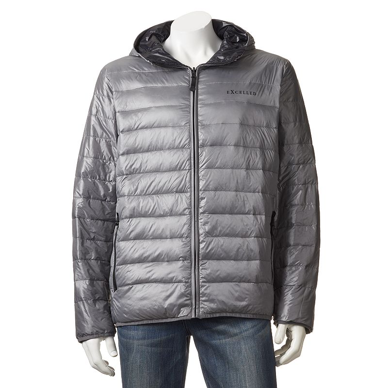 Chaps Packable Reversible Down Puffer Jacket - Big & Tall