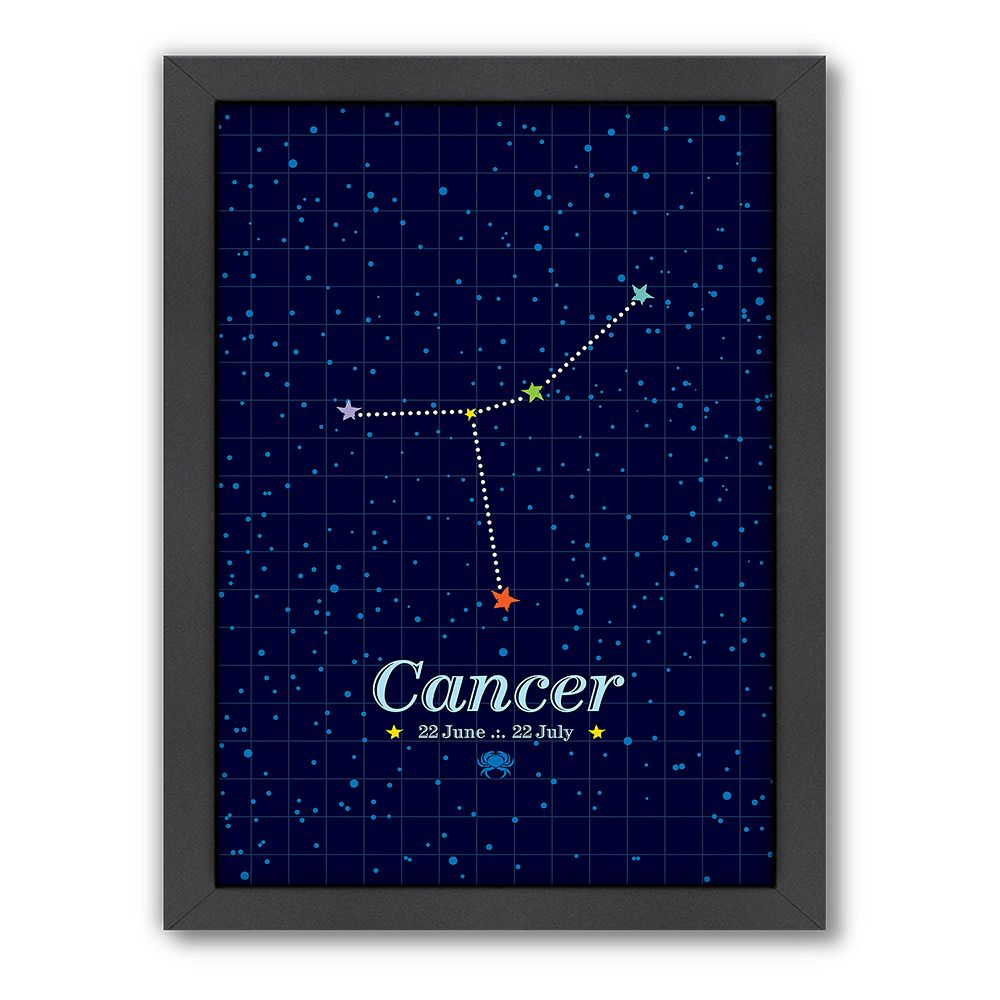 Americanflat Patricia Pino ''Cancer'' Framed Wall Art