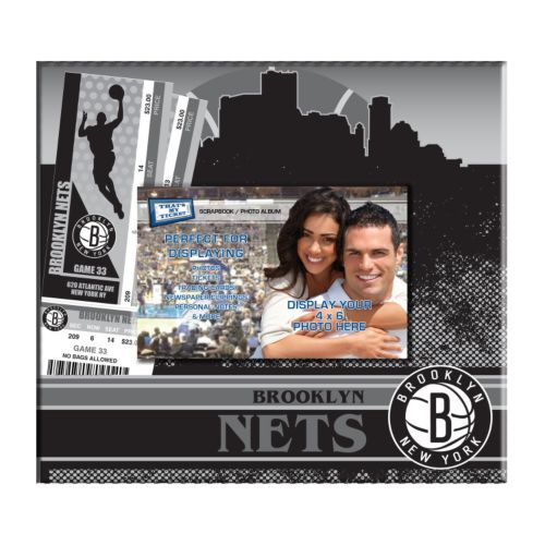 Brooklyn Nets 8 x 8 Ticket & Photo Album Scrapbook