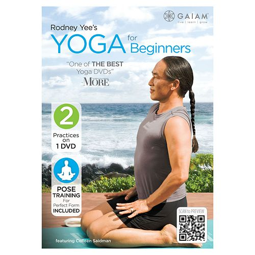 Rodney Yee's Yoga for Beginners DVD by Gaiam