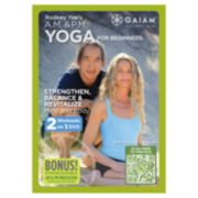 Rodney Yee's A.M. and P.M. Yoga For Beginners DVD by Gaiam