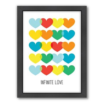 Americanflat Patricia Pino ''Infinite Love'' Framed Wall Art