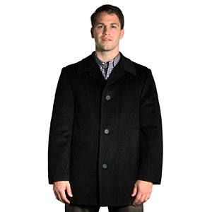 Men's Jean-Paul Germain Wool-Blend 4-Button Walking Coat