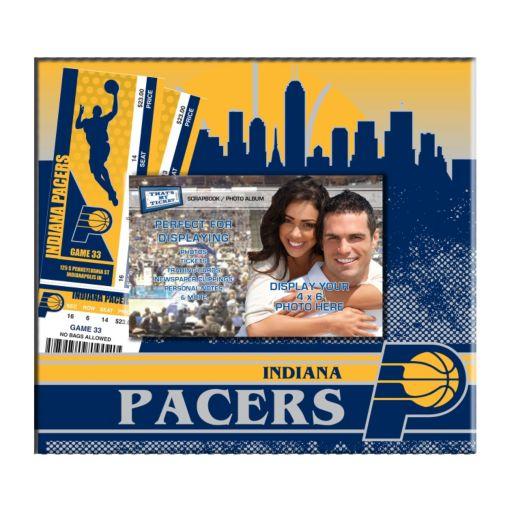 "Indiana Pacers 8"" x 8"" Ticket & Photo Album Scrapbook"