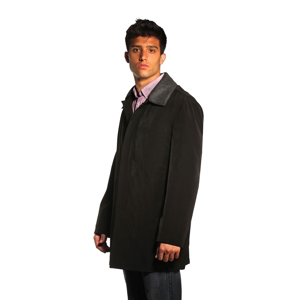 Men's Jean-Paul Germain 33-inch Juneau Overcoat