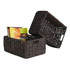 Winsome Granville 2-piece Foldable Basket Set