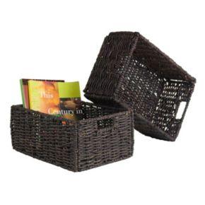 Winsome Granville 2-piece Foldable Basket Set
