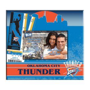 "Oklahoma City Thunder 8"" x 8"" Ticket & Photo Album Scrapbook"