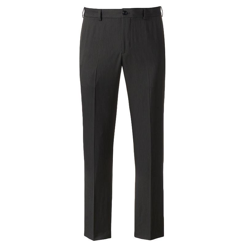 IZOD Ultimate Travel Slim-Fit Wrinkle-Free Performance Flat-Front Pants - Men