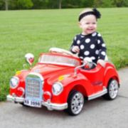 Lil' Rider Cruisin' Coupe Classic Car Ride-On with Remote