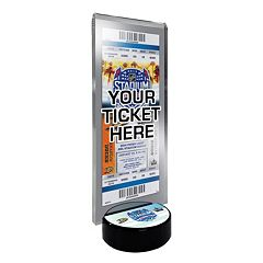 2014 NHL Stadium Series Desktop Ticket Display Stand - Anaheim Ducks vs. Los Angeles Kings