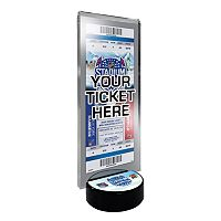 2014 NHL Stadium Series Desktop Ticket Display Stand - New Jersey Devils vs. New York Rangers