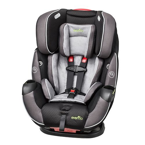 evenflo symphony elite convertible car seat. Black Bedroom Furniture Sets. Home Design Ideas