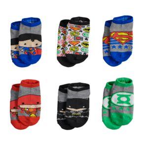 Justice League 6-pk. Low-Cut Socks - Toddler