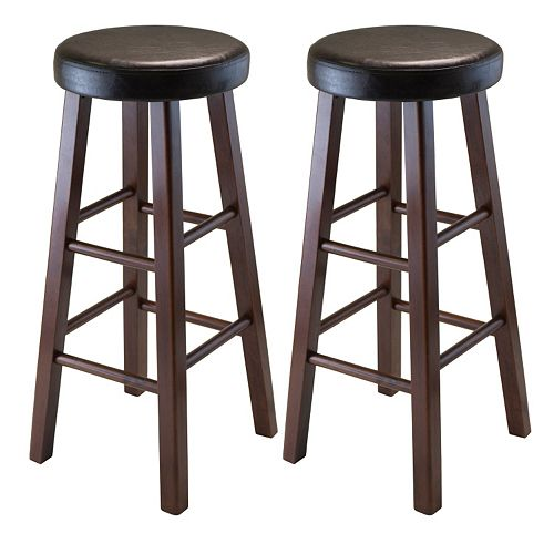 Winsome Marta 2-piece Bar Stool Set