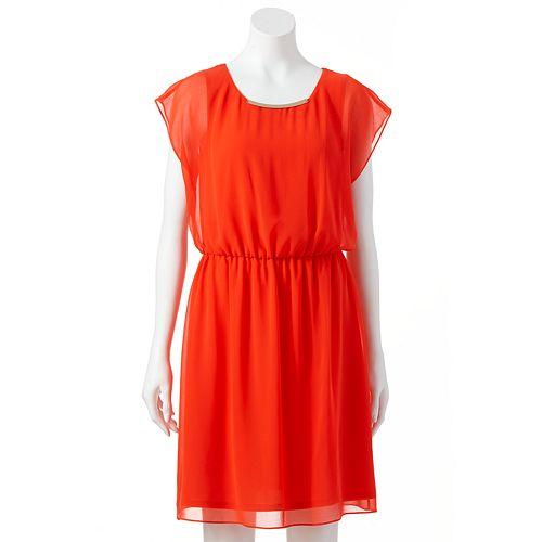 AB Studio Chiffon Dress - Women's